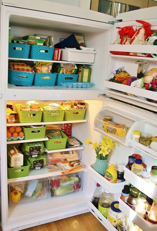 Resultado de imagen para refrigerador lleno de comida